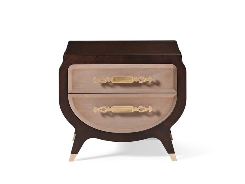 Bedside table with drawers GRAN DUCA | Bedside table by Prestige