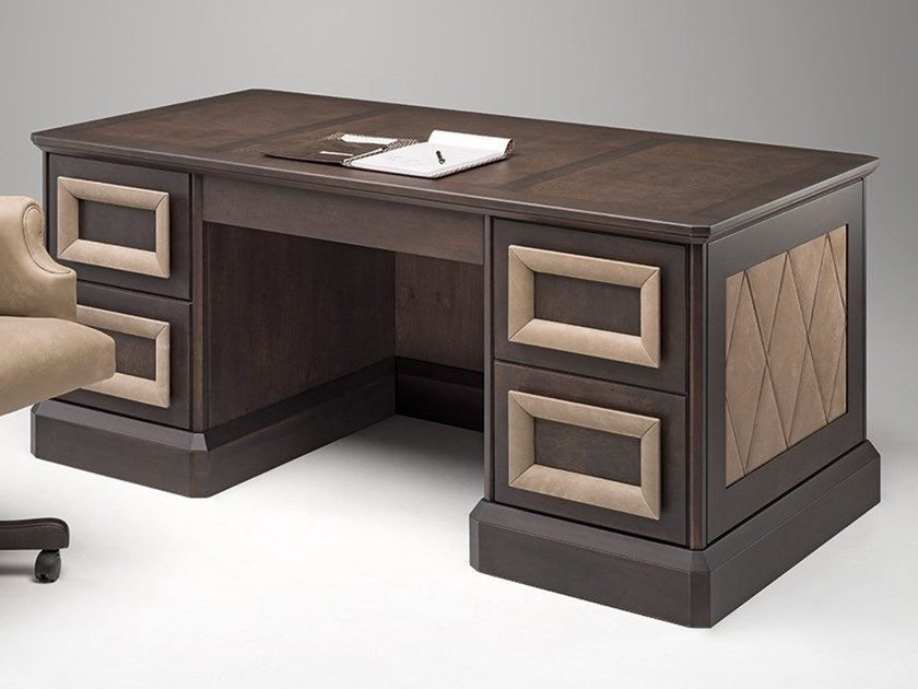 Rectangular maple writing desk GRAN DUCA | Writing desk by Prestige
