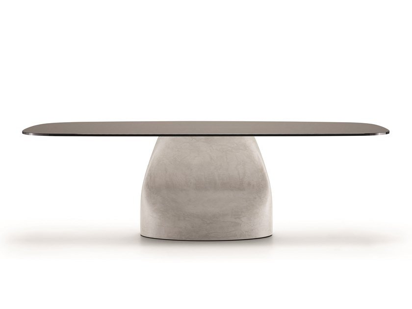 Rectangular Baydur® table GRAN SASSO by Midj