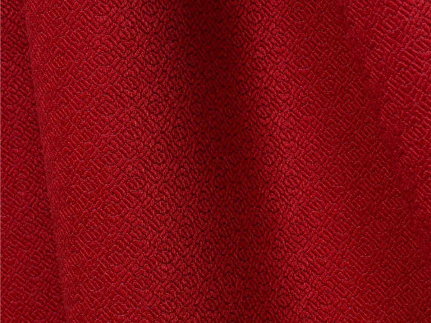 Jacquard upholstery fabric GRANA by LELIEVRE