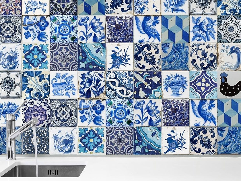 Industrial and modern wallpaper, PVC free, eco, washable GRANADA by Wallpepper