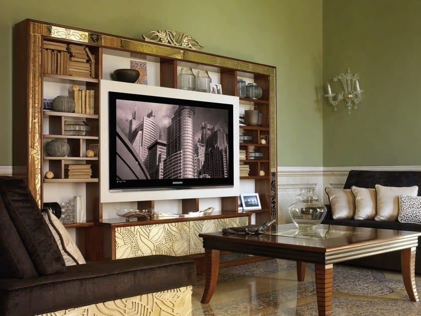 Cantiero Con Tv In Legno Grand Attrezzata ÉtoileParete Autoportante Porta zUSMqVp