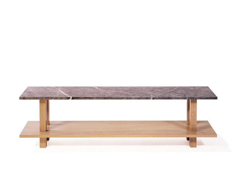 Marble bench GRAND BANC | Marble bench by Objets Architecturaux