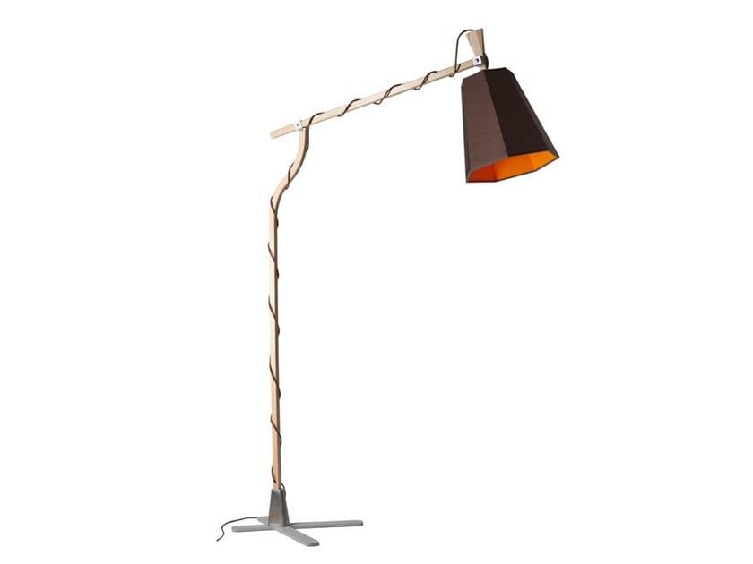 Adjustable floor lamp GRAND LUXIOLE   Floor lamp by designheure