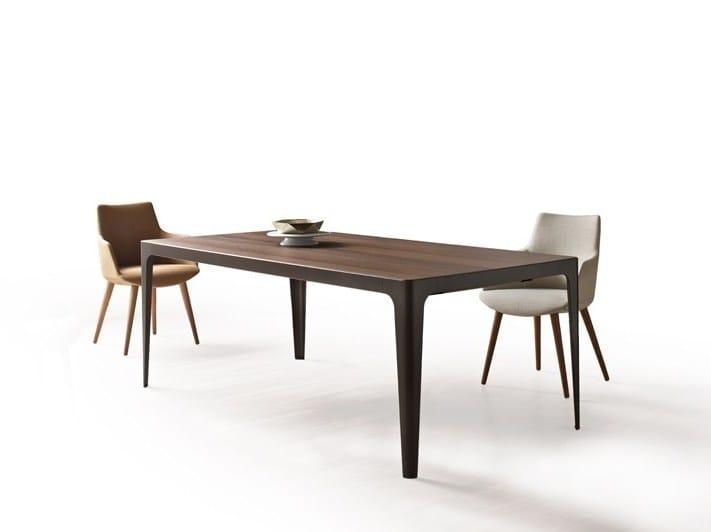 Rectangular metal table GRAND MORE | Rectangular table by ESTEL GROUP