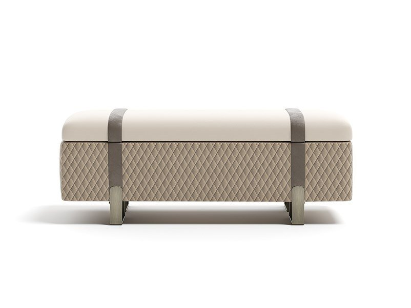 Storage upholstered bench GRAND | Bench by Capital Collection