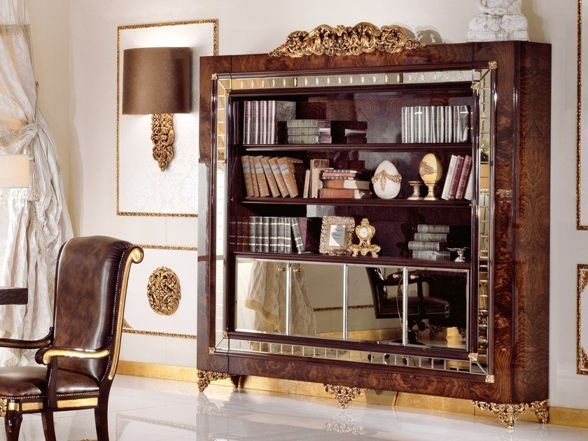 Freestanding bookcase GRAND ROYAL | Bookcase by A.R. Arredamenti