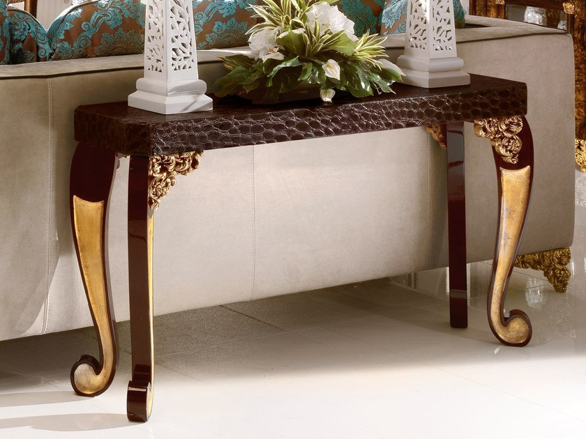 Rectangular console table GRAND ROYAL | Console table by A.R. Arredamenti