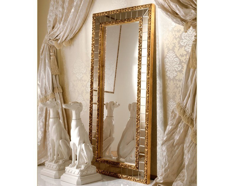 Freestanding rectangular mirror GRAND ROYAL   Freestanding mirror by A.R. Arredamenti