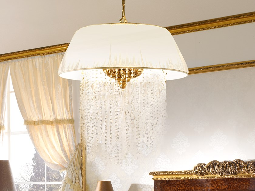 Fabric pendant lamp GRAND ROYAL | Pendant lamp by A.R. Arredamenti