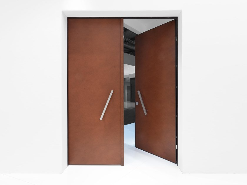 Safety door with concealed hinges GRAND SUPERIOR DOUBLE DOOR by Bauxt