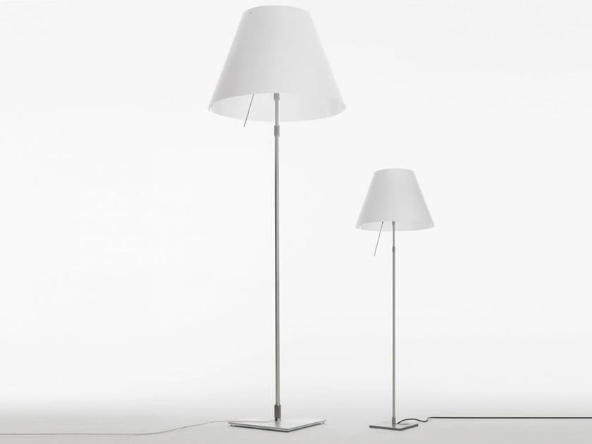 Lampada da terra a LED in policarbonato GRANDE COSTANZA | Lampada da terra by LUCEPLAN