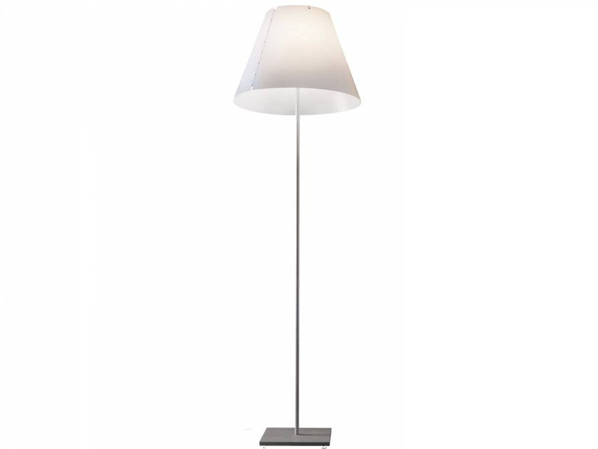 Lampada da terra a LED in policarbonato GRANDE COSTANZA OPEN AIR by LUCEPLAN