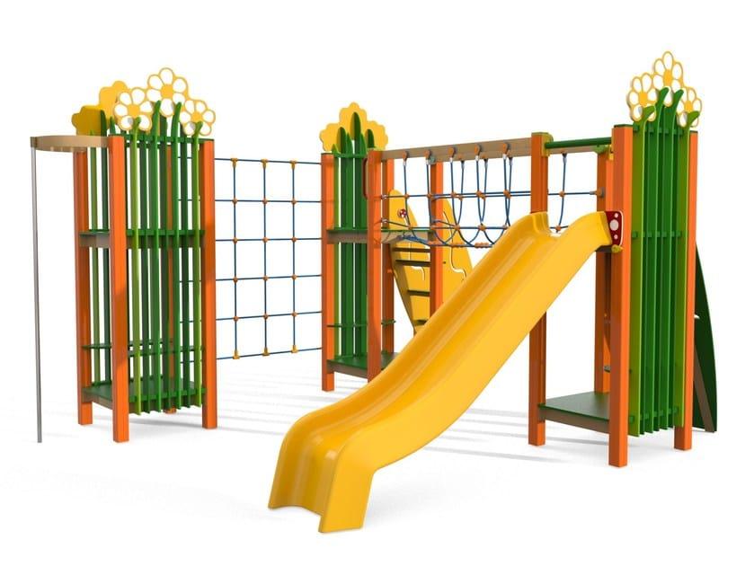 Play structure GRANDE PRATO by Stileurbano
