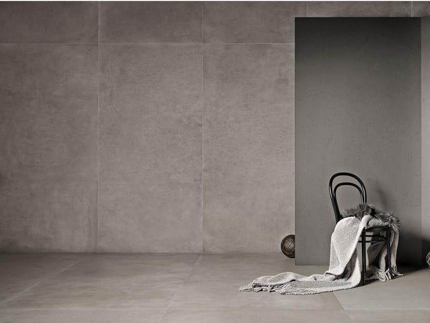 Indoor/outdoor wall/floor tiles with concrete effect GRANDE | Wall/floor tiles with concrete effect by MARAZZI