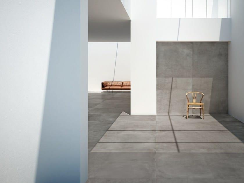 Bodenbelag Beton grande wand und bodenbelag mit beton effekt by marazzi