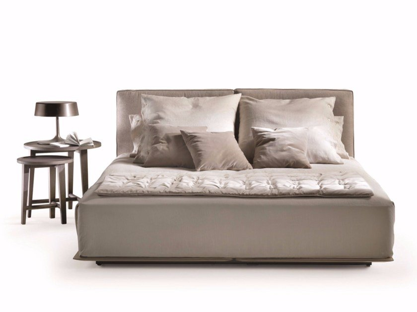 Fabric double bed with removable cover GRANDEMARE | Bed by FLEXFORM