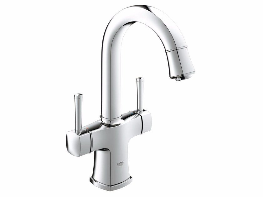 Countertop 1 hole washbasin tap with adjustable spout GRANDERA™ SIZE L | Washbasin tap by Grohe