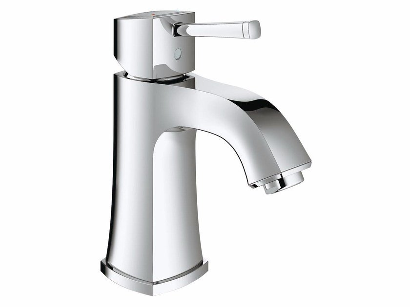 Countertop single handle washbasin mixer without waste GRANDERA™ SIZE M | Washbasin mixer by Grohe