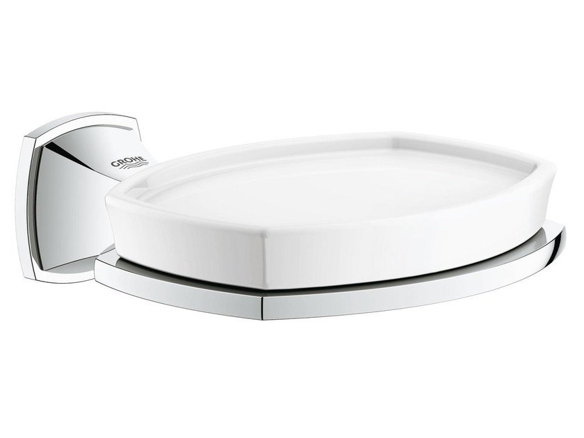 Wall-mounted ceramic soap dish GRANDERA™ | Soap dish by Grohe