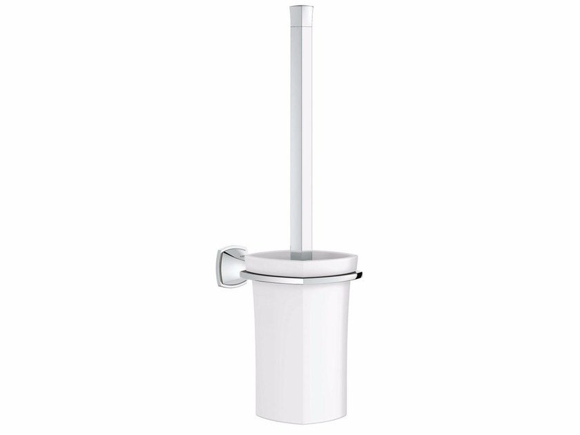 Wall-mounted ceramic toilet brush GRANDERA™ | Toilet brush by Grohe