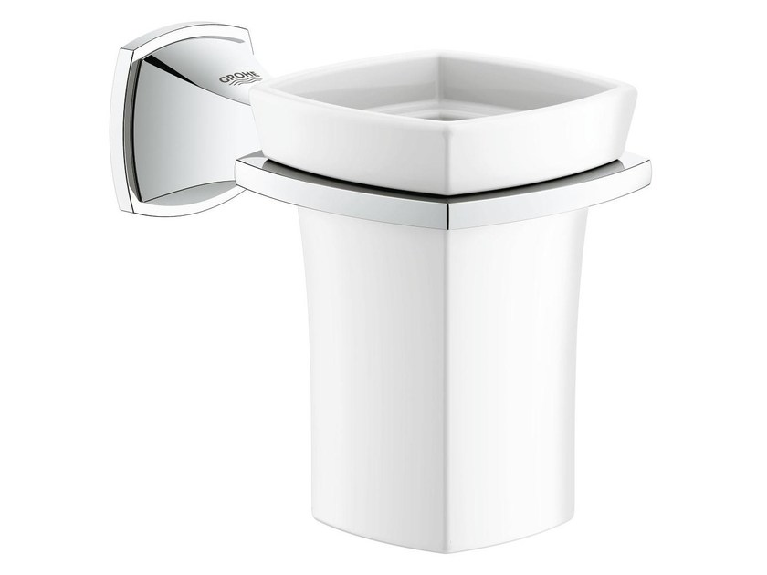 Ceramic toothbrush holder GRANDERA™ | Toothbrush holder by Grohe