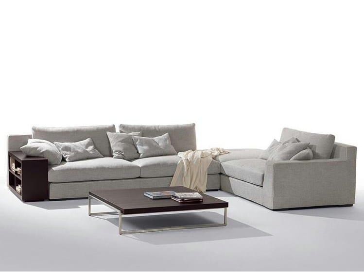 Corner fabric sofa GRANMILANO | Corner sofa by Marac