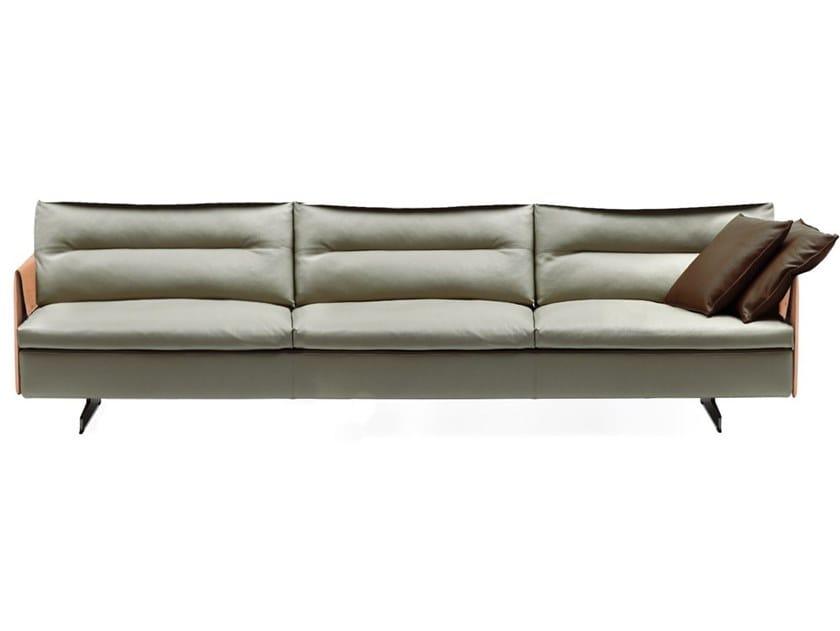Poltrona Sofa.Grantorino 3 Seater Sofa By Poltrona Frau Design Jean Marie Massaud