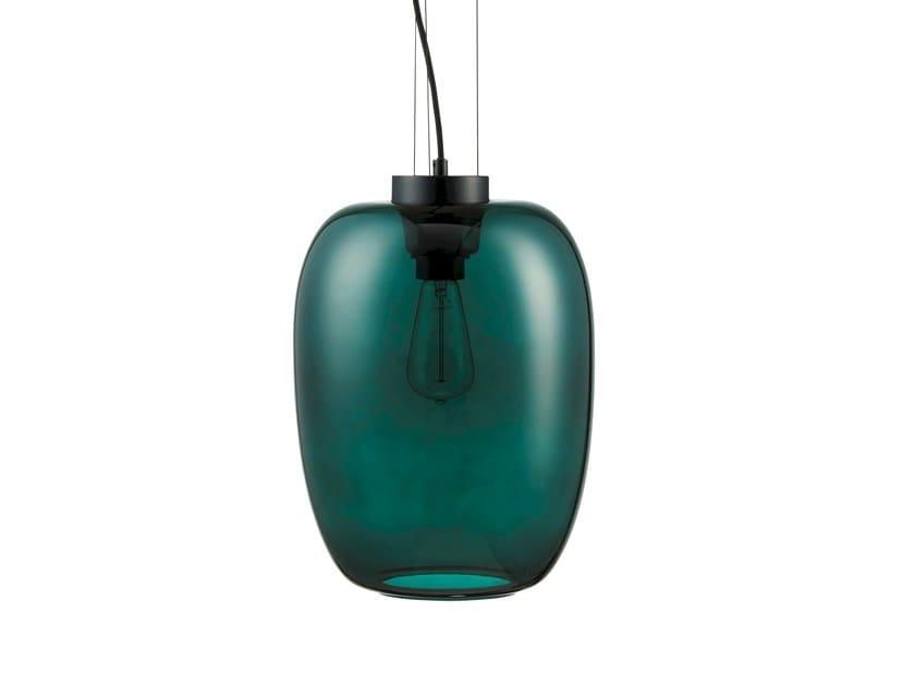Glass pendant lamp GRAPE SLIM | Pendant lamp by Bolia