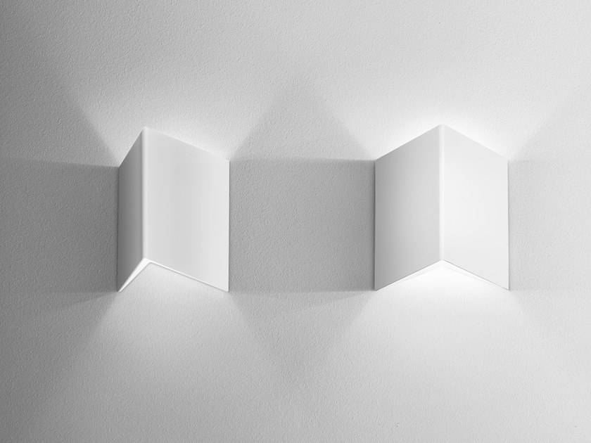LED direct-indirect light wall light GRAPH by AQForm