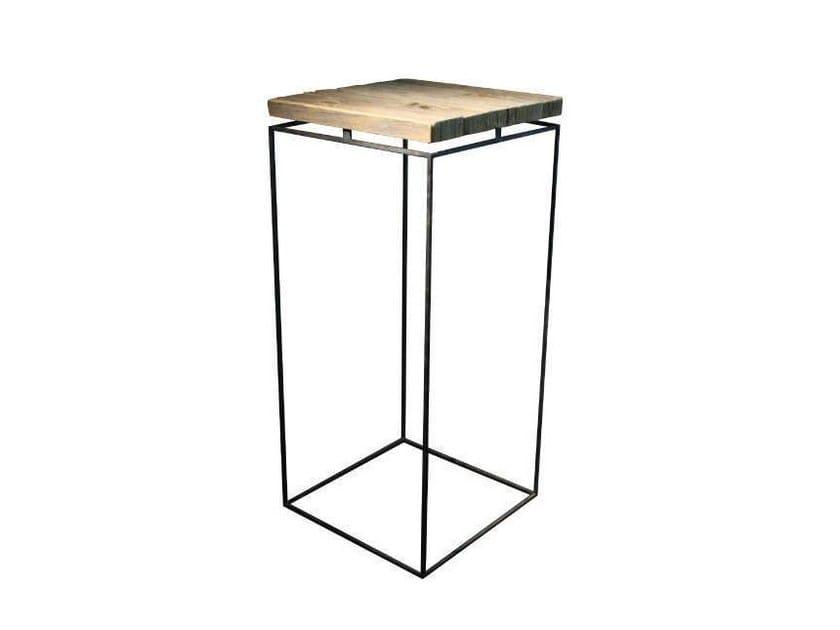Tavolo alto quadrato in rovere GRAPHIC | Tavolo alto by Garbarino