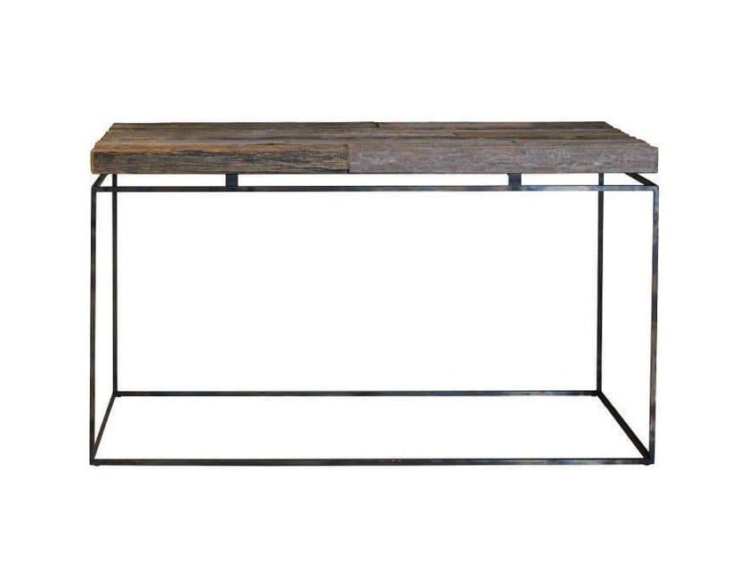 Tavolino rettangolare in rovere GRAPHIC | Tavolino rettangolare by Garbarino