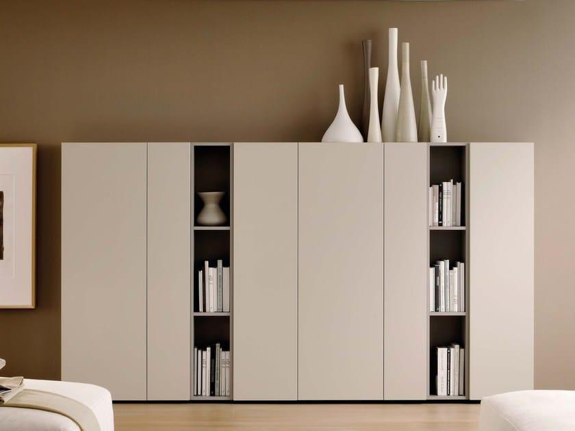 Wardrobe with coplanar doors GRAPHOS | Sectional wardrobe by Silenia
