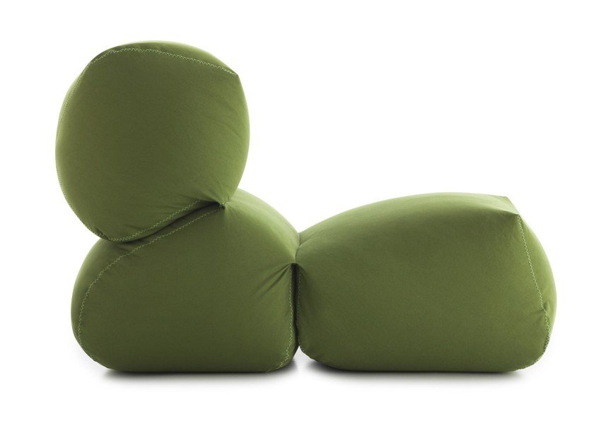 Upholstered armchair GRAPY by GAN