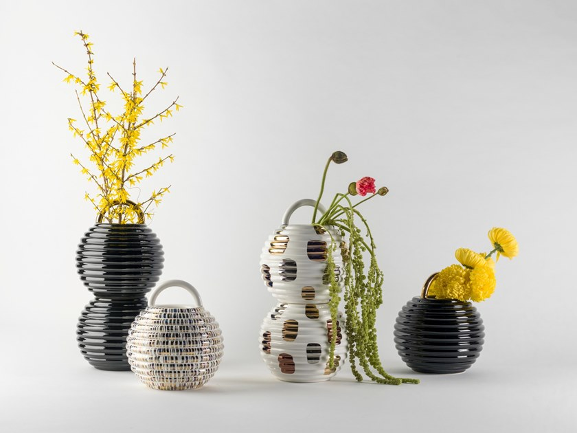 Ceramic vase GRASSO | Vase by BD Barcelona Design