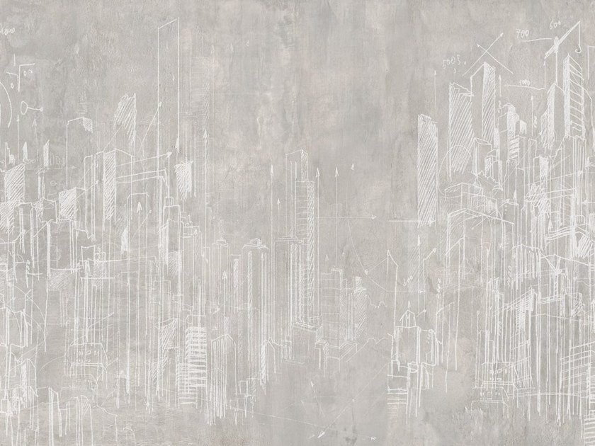 Landscape wallpaper GRATTACIELI by Tecnografica Italian Wallcoverings