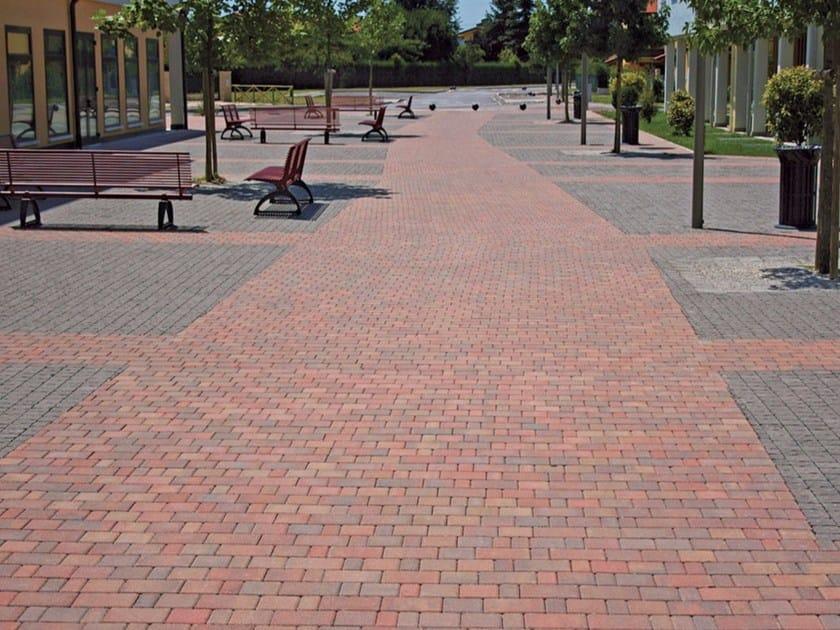 Concrete paving block GRATICOLATO by Micheletto