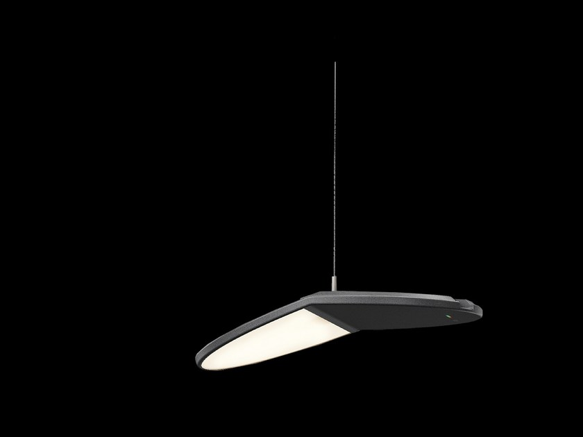 Cableless suspended luminaire GRAVITY CL by Nimbus
