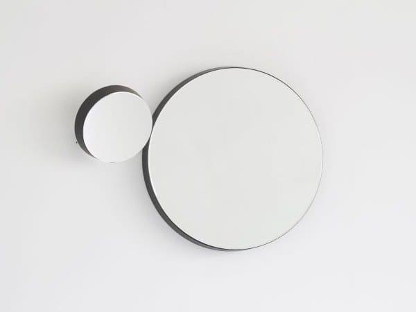 Miroir rond mural pour salle de bain GRAVITY ROUND by Ex.t