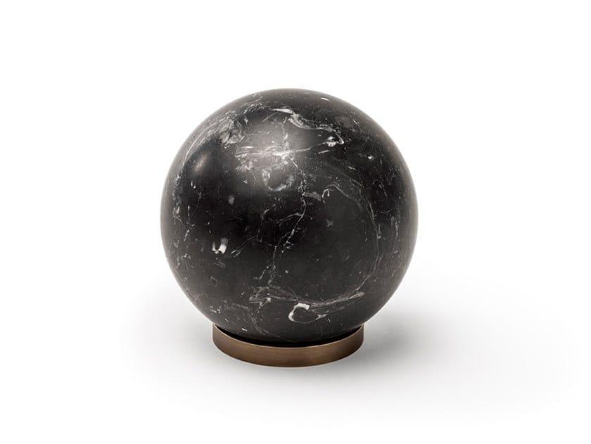 Marble decorative object GRAVITY by SALVATORI