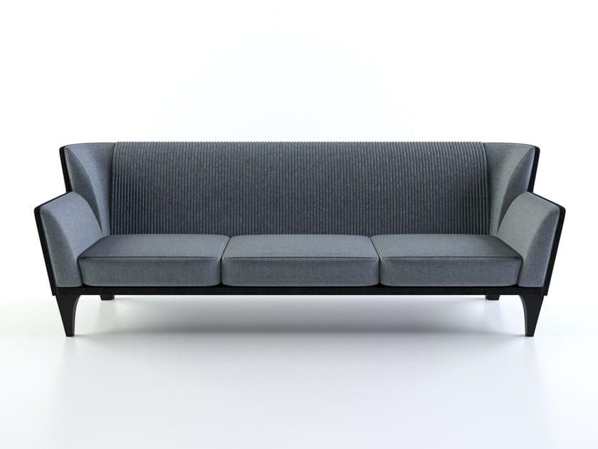 3 seater fabric sofa GREBIN by FAINA Collection