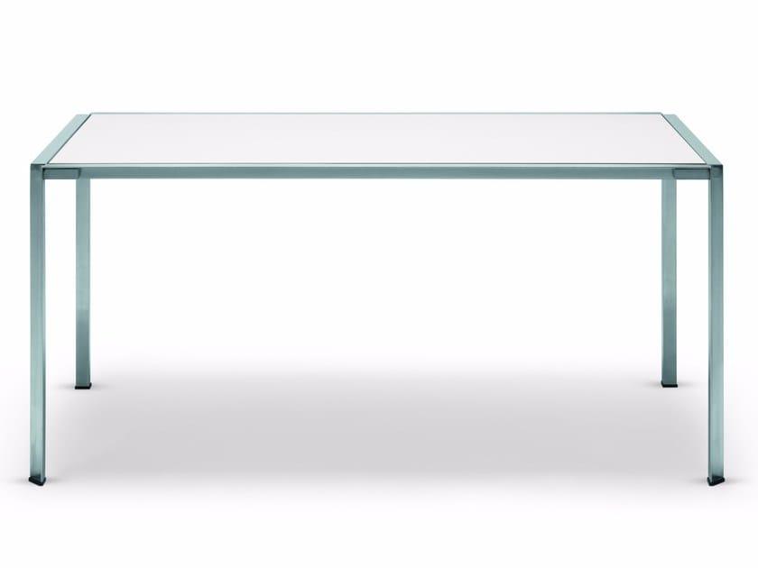 Rectangular Dekton® garden table GREEN | Dekton® table by Alias