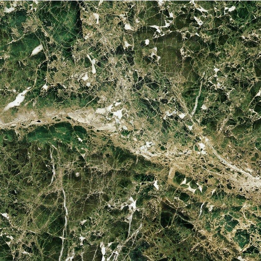 GREEN EMPERADOR MARBLE | Carta da parati panoramica