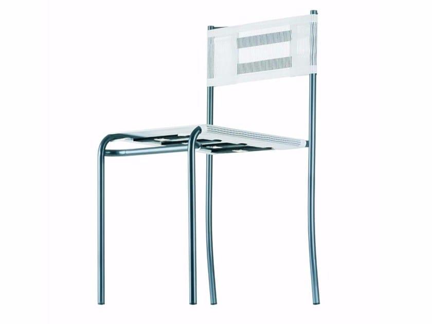 Stackable garden chair GREEN GEMINI - 200_O by Alias