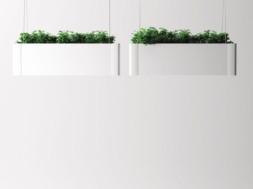 Plantador pendente de alumínio GREEN LIGHT_C by Systemtronic