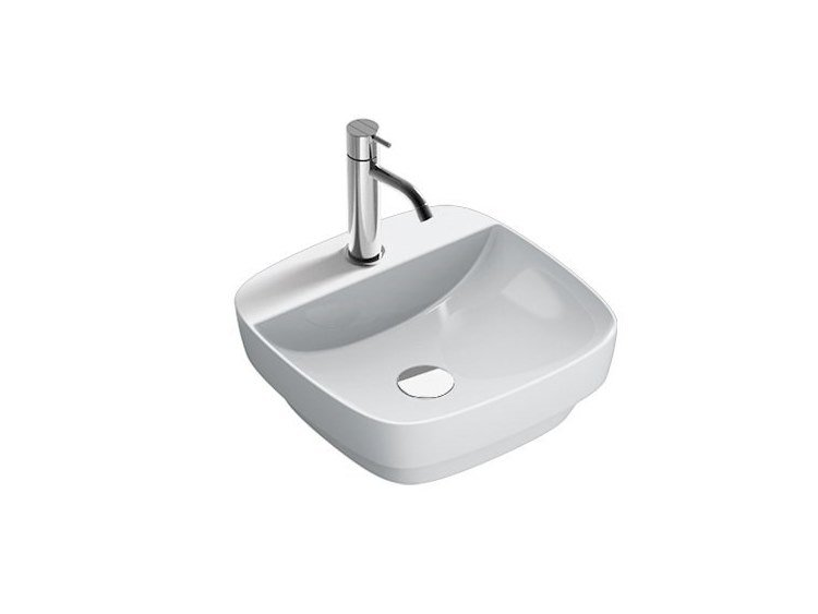 Countertop ceramic handrinse basin GREEN | Handrinse basin by CERAMICA CATALANO