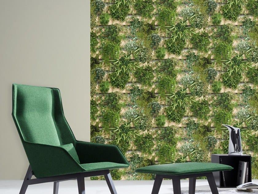 Wallpaper GREEN PALLET by Koziel