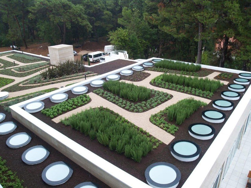 Membrane impermeabilizzante per tetto verde GREEN ROOF by POLYGLASS