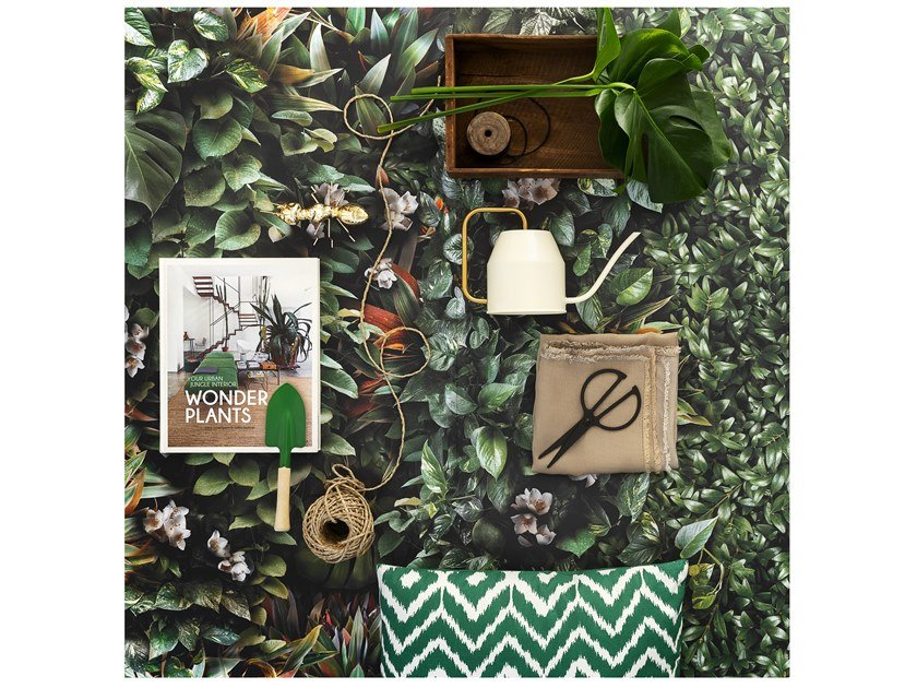 Indoor porcelain stoneware wall tiles GREENWALL by Panaria Ceramica