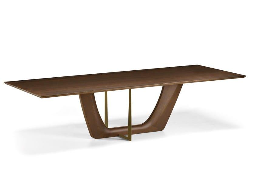 Tavolo in sucupira greenwich arketipo - Ristrutturare tavolo in legno ...